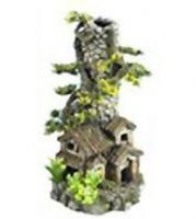 Classic Large Cobbled chimney Ornament for biorb fish Tank Aquarium Decoration